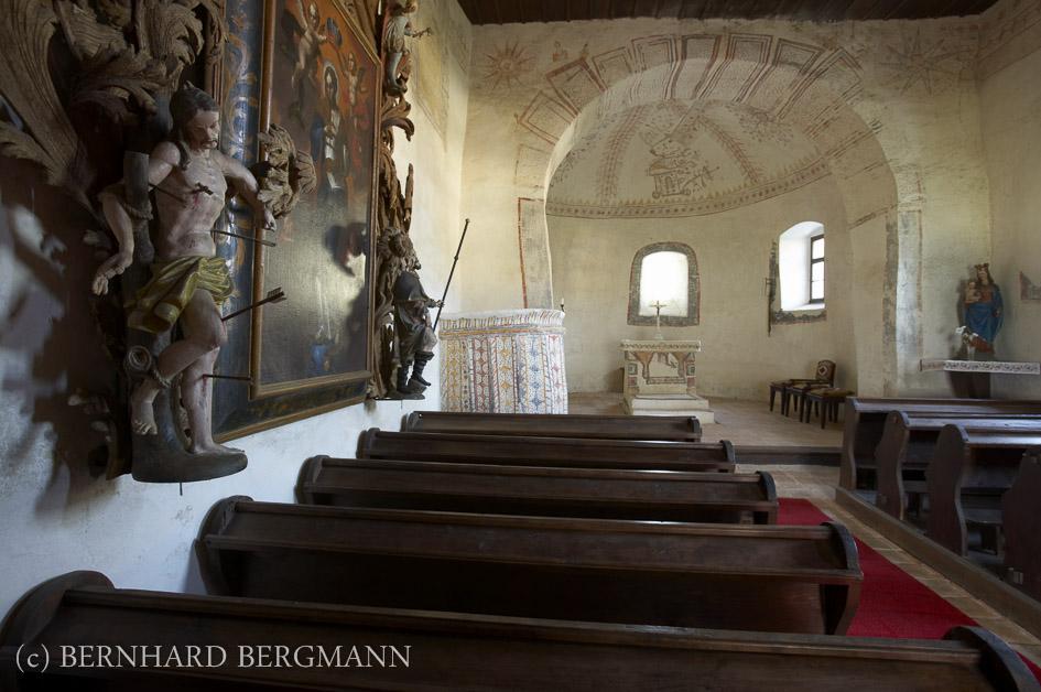 Kirche Hl. Ladislaus Mitte 17. Jh. urspr. protestantisch Siget i. d. Wart, Copyright by Bernhard Bergmann_E8B7989