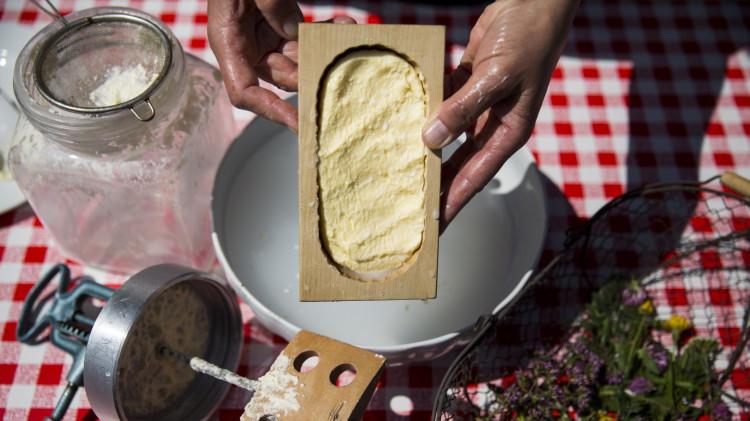 Almenland_Butterherstellung