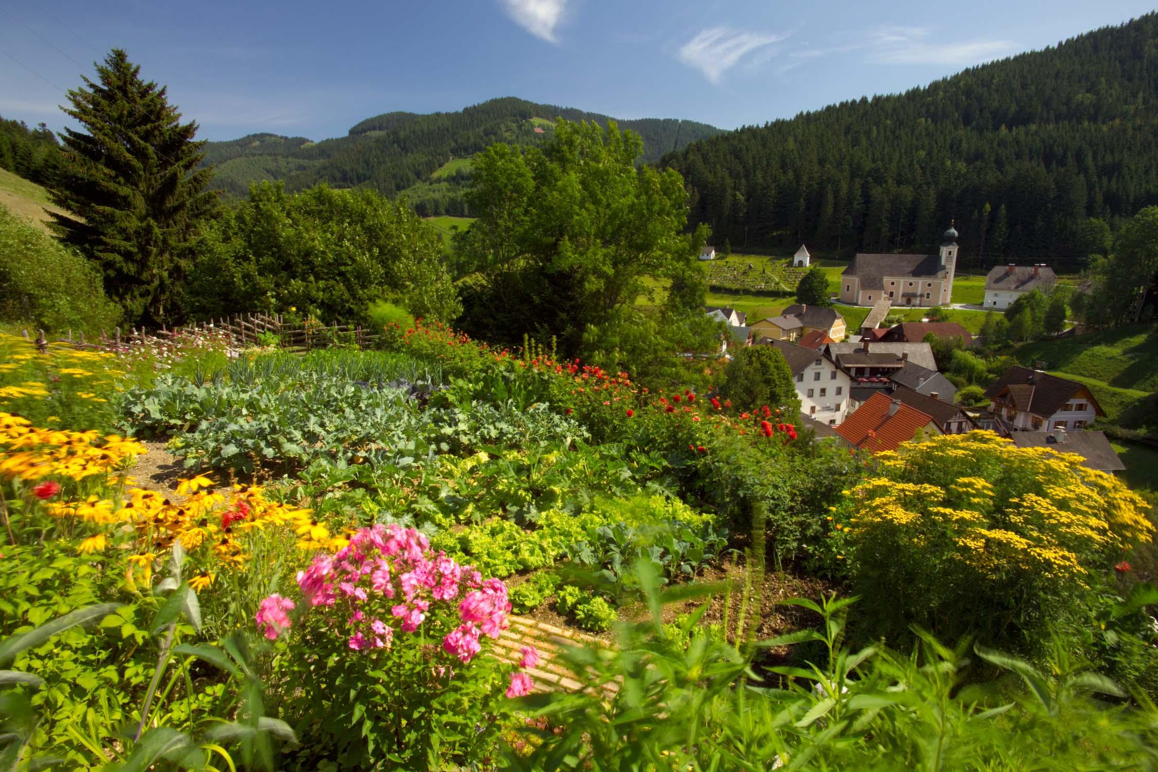 Garten Gasen Almenland (c) B. Bergmann
