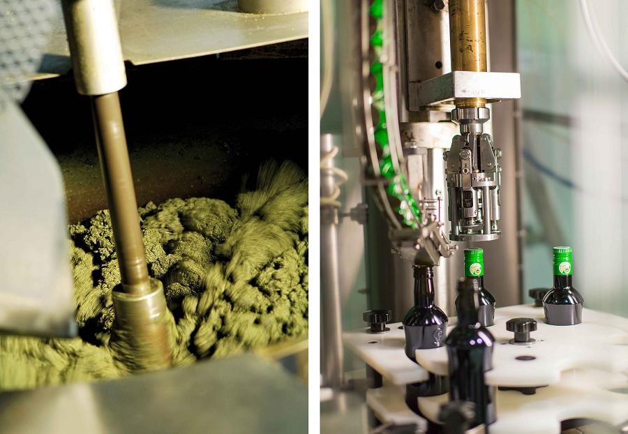 Das Steirerkraft Kürbiskernöl wird in der Steiermark produziert.