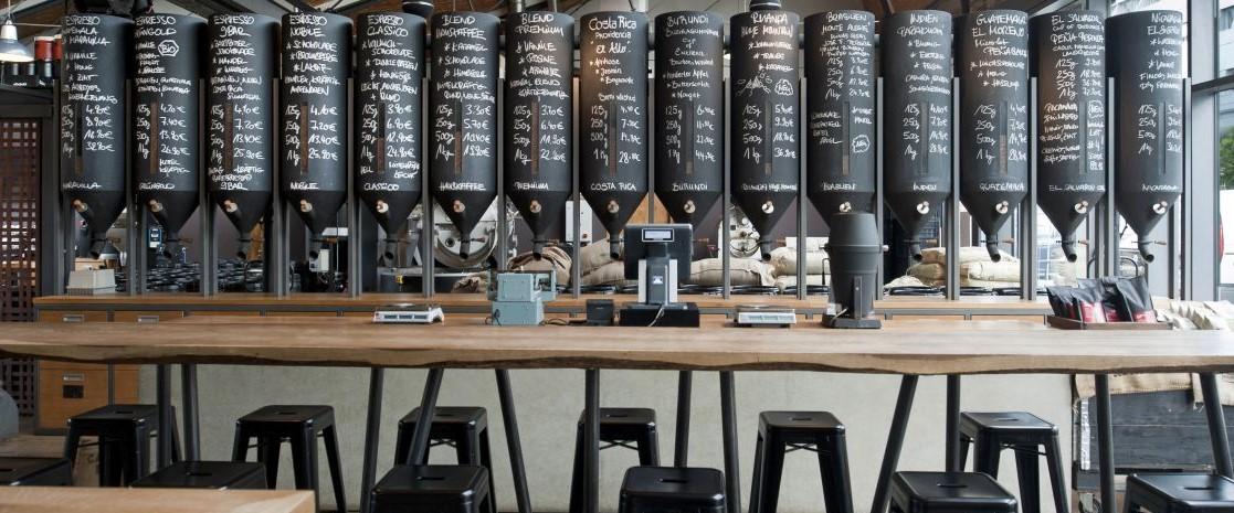 Elbgold Kaffeespender